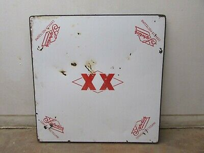 Superior XX Metal Table Porcelain Top #4 -Old Mexican-Restaurant Bar-30x30-WOW