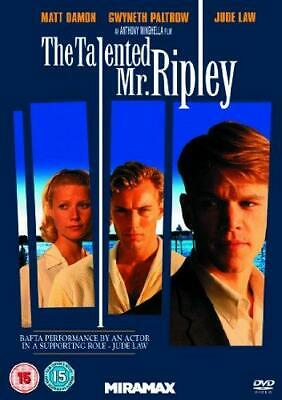 The Talented Mr Ripley [DVD], Good DVD, Jude Law, Gwyneth Paltrow, Matt Damon,