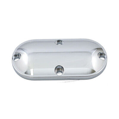 Harley Dyna Softail Chrom Stepped Inspection Cover 86-06