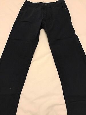Navy Slim Jeans Age 12-13 Excellent Condition