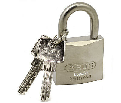 ABUS 75IB/40 All Weather Marine Grade Padlock with Stainless Shackle