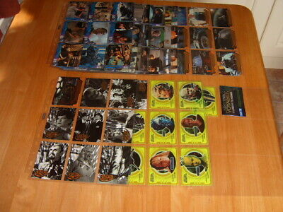 Basic set 100 Star Trek Voyager Closer To Home 1999 Trading Cards + chase cards
