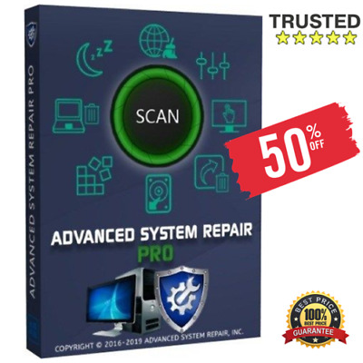 Advanced System Repair Pro 2019 ✅Full Version ✅Windows PC 🔑 FAST DELIVERY📩