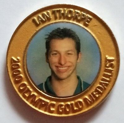 2000 Olympic Game Medallist Swimming - Daily Telegraph collection medal