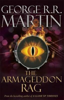 NEW The Armageddon Rag By George R. R. Martin Paperback Free Shipping