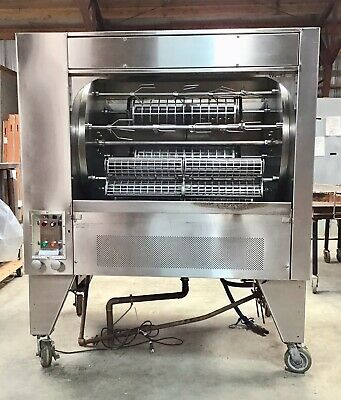 """New condition and barely used """"Woodstone"""" commercial rotisserie w/ accessories"""