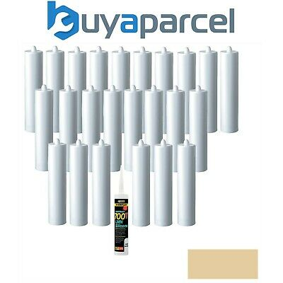 Everbuild Everflex Silicone 700T Caramel 310ml Size Pack of 25
