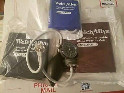 Welch Allyn Tycos Sphygmomanometer (Blood Pressure) with  Cuffs