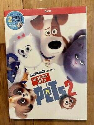 The Secret Life of Pets 2 DVD (2019) **GREAT DEAL** **FREE SHIPPING**