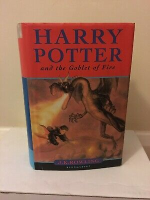 Harry Potter and the Goblet of Fire by J.K. Rowling (Hardback) 1st edition