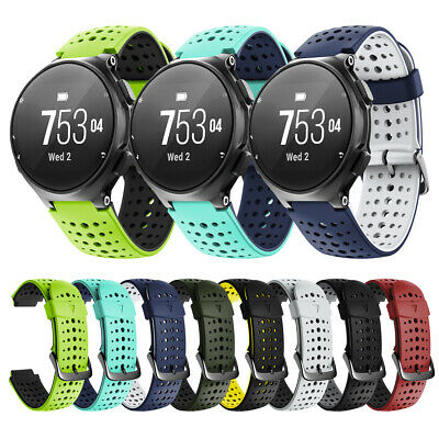 For Garmin Forerunner 220 230 235 620 630 735XT Silicone Watch Band Wrist Strap~