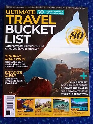 Ultimate Travel Bucket List (Brand New Magazine)