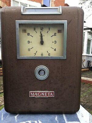 Magneta Clocking In Clock Plus 2 Magneta Slave Clocks