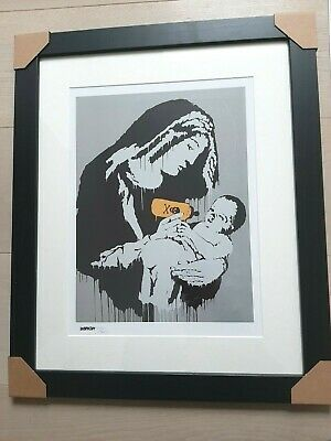 Banksy Sérigraphie Signed Numbered on 300, Certificat Edition CADRE INCLUS
