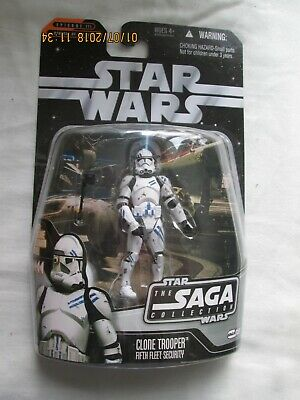 Star Wars Saga Clone Trooper Fifth Fleet Security,NEW,UNOPENED