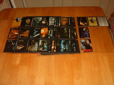 Eclipse cpomplete set of 110 Friday 13th Jason Goes To Hell 1993 Trading Cards