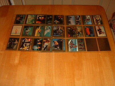 Eclipse 34 different James Bond 007 1993 Trading Cards + 2 hologram cards H1,H2
