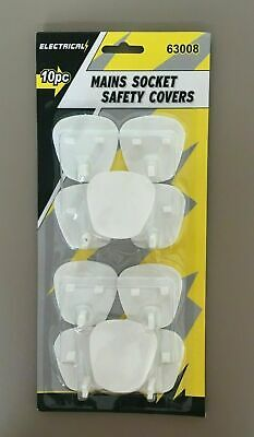 Baby Plug Socket Covers Babies Children's Safety Protector for UK 3 Pin Socket