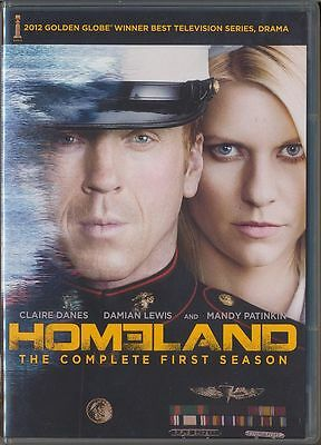 Homeland: The Complete First Season (DVD, 2012, 4-Disc Set) BRAND NEW