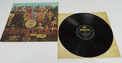 The Beatles Sgt Peppers Lonely Hearts Club Band Vinyl LP 1st Pressing - VG+