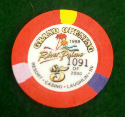 $5 River Palms Laughlin Grand Opening Casino Chip