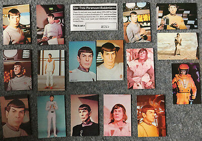 Star Trek Paramount Roddenberry Promo Complete 16 Card Set #2115