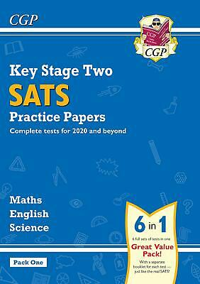 New KS2 Complete SATS Practice Papers Pack: Science, Maths & English Pack 1 BEST