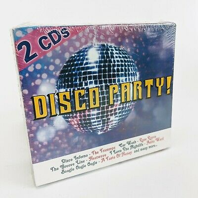Disco Party 2 CD Set Disco Inferno & Boogie Nights New Sealed 20 Tracks Total
