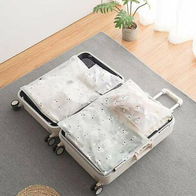 Packing Cube Pouch Suitcase Clothes Storage Bags Travel Luggage Organiser BB