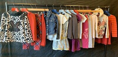 GAP Girls Spring Bundle Age 3-4 Jumpers Leggings Dresses Jeans Long Sleeve Tees