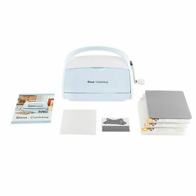 New Cricut Cuttlebug Die Cutting and Embossing  Machine Blue with Accessories
