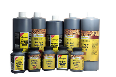 Fiebings Antique Leather Stain 4oz (118ml) - all colors