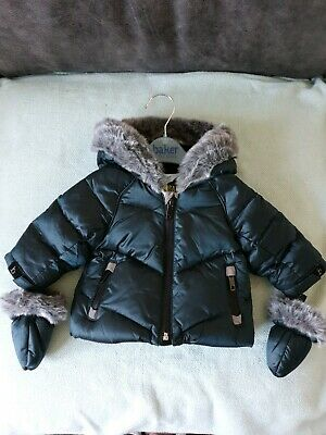 BNWT Boys Baker By Ted Baker Down Filled Coat Age 0-3 Months