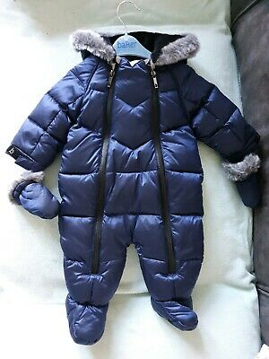 BNWT Baker By Ted Baker Snowsuit Age 3-6 Months