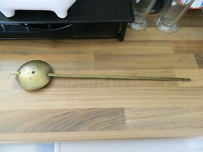 Fusee Pendulum For Wall Clock For Spares