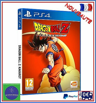 Jeu PS4 Dragon Ball Z Kakarot Goku Console Sony Playstation 4 Manga Action RPG