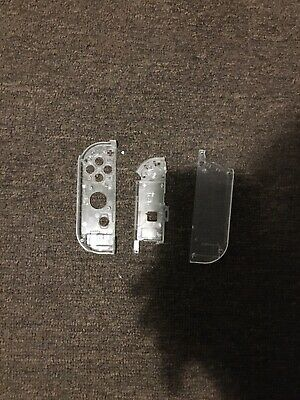 Joy Con Housing For Nintendo Switch - Clear -  Custom Controller Shell Right