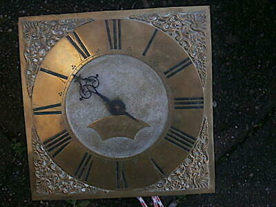 C1750 30hr   LONGCASE GRANDFATHER CLOCK DIAL+movement 10 inch        EDw Murry