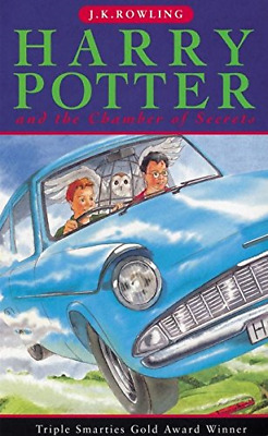 Harry Potter and the Chamber of Secrets (Book 2), J.K. Rowling, Good Condition B