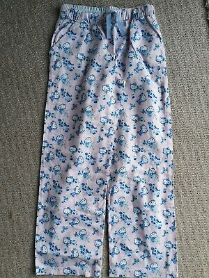 Older Girls Marks & Spencer Hello Kitty Brushed Cotton Pyjama BottomsAge 11-12