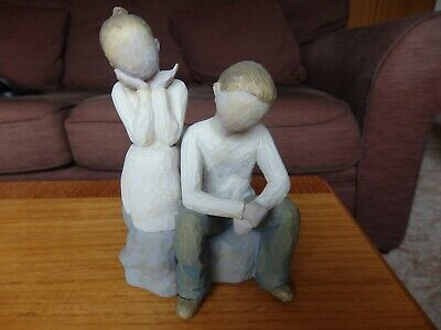Willow Tree Brother & Sister Figurine By Lordi 2007