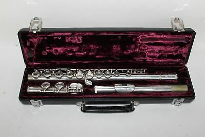 BUFFET Crampon Paris 228 Cooper Scale E Silver Flute With Leather Storage Case