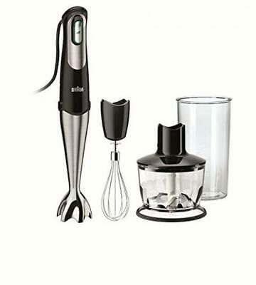 Braun MQ735 MultiQuick Hand Blender, Black