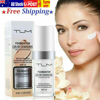 5 X Magic Flawless Color Changing Foundation TLM Makeup Change To Skin Tone sH