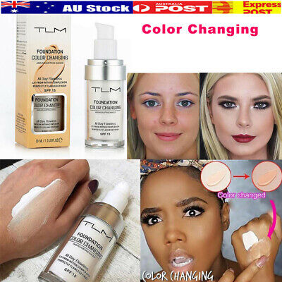 5 Magic Flawless Color Changing Foundation TLM Makeup Change To Your Skin Tone