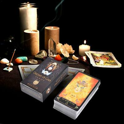 81 Pcs Dreams Of Gaia Tarot Deck Tarot Cards Game For Family Party Playing Card