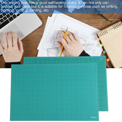 A1 60x90cm Thick 5-Ply Self Healing Craft Cutting Mat 2-Side Print Quilting AU