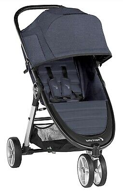 Baby Jogger City Mini 2 Compact Lightweight 3-Wheel Stroller Carbon NEW