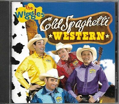 The Wiggles - Cold Spaghetti Western - 1998 CD - Original Members Out of print