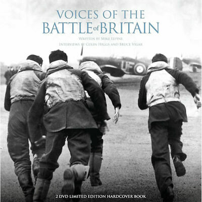 Voices of the Battle of Britain 2 DVD Limited Edition Hardcover Book